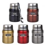 2 x Thermos Stainless King Vacuum Insulated Food Jar 470ml