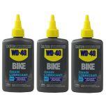 WD 40 Bike Wet Chain Lubricant 118ml X 3 pack