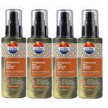 4 X Le Tan Shimmering Self Tanning Argan Oil 125mL  Medium/Dark