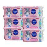6 x Curash Baby Wipes Jumbo 40PK Jumbo XL Fragrance Free
