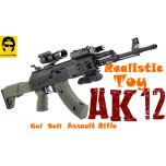 AK-12 Mag Fed Gel Ball Blaster Plastic Toy