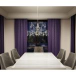 Artika Cosmos 27 inch LED Chandelier With 55 Premium Crystals