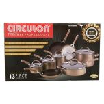 CIRCULON 13Pc Non Stick Cookware Set
