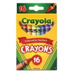Crayola Classic Color 16 Pack Crayons