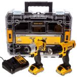 DeWalt 10.8V Li-ion Cordless Compact Drill and Impact Driver