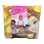 Disney Princess Plush Throw Beauty and the Beast