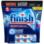 4 x 40 Pack Finish Quantum Max with Baking Soda Total 160 Tablets