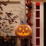 Halloween Pumpkin with Lights & Sounds