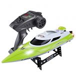 HJ806 2.4G RC Boat 200 Meters Control Distance 35km High-speed
