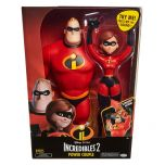 "Incredibles 2 Power Couple 12"" Figures"