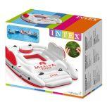 Intex Inflatable Marina Breeze Island Lake Raft