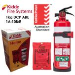 Kidde Fire Extinguisher Blanket Kit 1kg