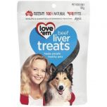 Love'em Beef Liver Treats For Dogs 100gm & Gift