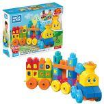 Mega Bloks First Builders ABC Musical Train Construction Set