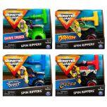 Monster Jam 1:43 Spin Rippers Trucks - Assorted