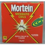 Mortein Outdoor Mosquito Coils 10 pack
