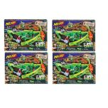 4 Pack NERF Zombie Strike Outbreaker Bow