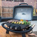 "Nexgrill 2 Burner Cast Aluminium 19"" Gas Table Top Grill BBQ"