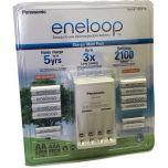 Panasonic Eneloop Recharge Battery Charger 8 AA 4 AAA Batteries