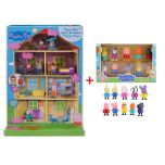 Peppa Pig Lights & Sounds Mega Family Home with Figures