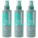 3 X Toni & Guy Sea Salt Texturising Spray Texture and Body 200ml