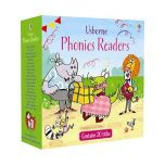 Usborne Phonics Readers 20 Book Box Set Collection