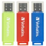 Verbatim Colour Snap 16GB USB Flash Drive 3 Pack