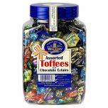 Walkers Toffee and Eclair Tub 1.25kg