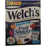 Welch's Halloween Fruit Snacks Mixed Fruit 110 pouches