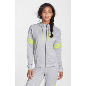 Adidas Women's Performance Tracksuit 2Love Full-Zip whitish grey-L
