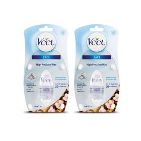 2 Pack Veet Sensitive High Precision Face Wax 15mL