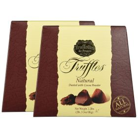 Truffettes de France Cacao Powdered Truffles Chocolate 2 x 1kg Pack