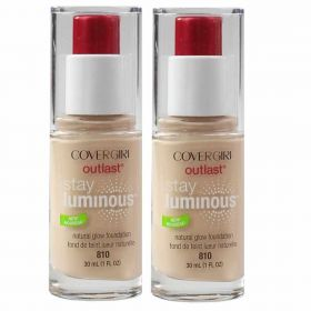 2 X Covergirl 30mL Outlast Stay Luminous Foundation 810 Classic Ivory