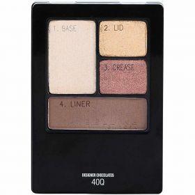2 X Maybelline 40 Q Expert Wear Eyeshadow Quads Designer Chocolates
