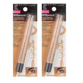 2 X Maybelline Brow Precise Eyebrow Highlighter 320 Deep Fonce