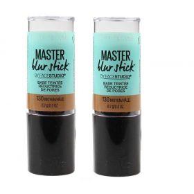 2 X Maybelline Master Blur Stick Tinted Primer 130 Medium Tan