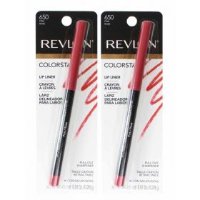 2 x REVLON  Lip Liner Colorstay 650 Pink Rose