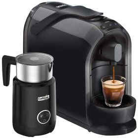 Grinders Caffitaly cafe Coffee Machine Black S24 Bundle