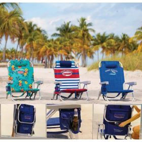2 x Tommy Bahama Beach Chair Seat Storage Cooler Pouch