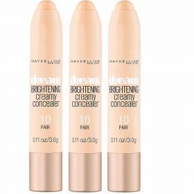 3 X Maybelline Dream Brightening Creamy Concealer 10 Fair
