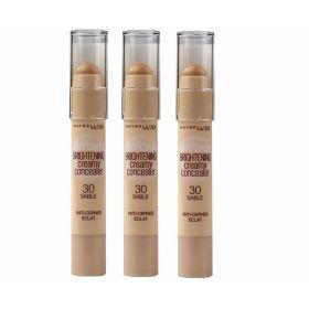 3 X Maybelline Dream Brightening Creamy Concealer 30 Sable