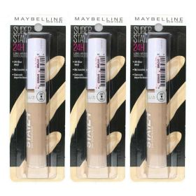 3 X Maybelline SuperStay 24hr Concealer 2 Light