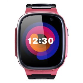 360 Kids Smart Watch E1 (4G/LTE. Patch Trace, Video Call, 1 Click SOS)-Pink
