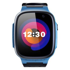 360 Kids Smart Watch E1 (4G/LTE. Patch Trace, Video Call, 1 Click SOS)-Blue