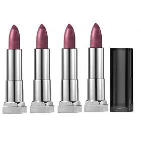 4 X Maybelline Color Sensational Metallic Lipstick 966 Copper Rose