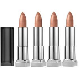 4 X Maybelline Lipstick 950 White Gold
