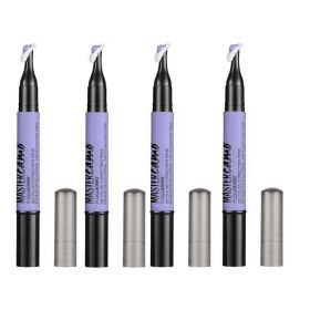 4 X Maybelline New York Master Camo Color Correcting Pen 20 Blue
