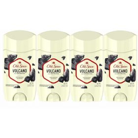4 X Old Spice Fresher Collection Volcano Invisible Solid Deodorant 73gm
