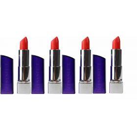 4 X Rimmel Lipstick Moisture Renew660 In Love With Ginger