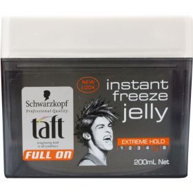Schwarzkopf Taft Instant Frezee Jelly Extreme Hold 200mL